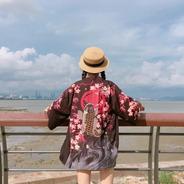 Kimono Pez Koi Unisex