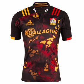 Camiseta Rugby Chiefs Nueva Zelanda Negra Titular 2017