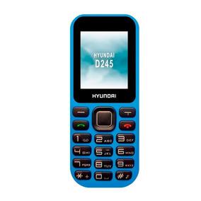 Celular Hyundai D45 Azul Mp3 Y Radio