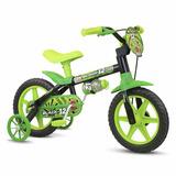 Bicicleta Infantil Nathor Aro 12 Black 12 Menino Masculina