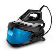 Plancha Generador De Vapor Rowenta Compact Steam Pro Azul