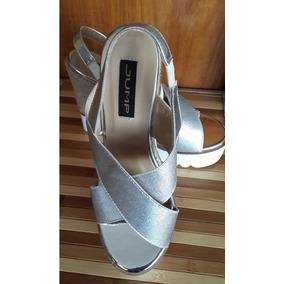 Zapatos Jump Plateados De Moda Talla 38 Oferta Nuevos