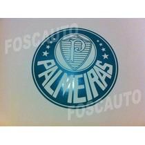 Adesivo Escudo Simbolo De Times Palmeiras, Corinthians, Spfc