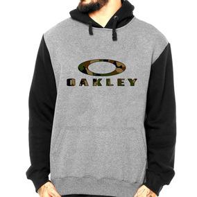 Blusa Moletom Oakley Camuflado Moleton Masculino Canguru