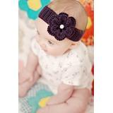 Cintillos De Lana Para Bebé - Tejidos A Palillo Y Crochet