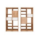 Biblioteca Con Cajón Y Puerta | Diseño | Minimalista