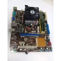 Kit -placa Mãe M2n68-am Se2 Ddr2 Asus Socket Am2 Athlon Ii