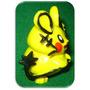 Dedenne Pokemon Muñeco Resina - Aleaciones Plasticas