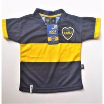 Camiseta Boca Bebe Original Body Enterito Remera Ajuar River