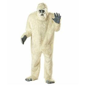 Disfraz Traje Botarga Abominable Hombre De Las Nieves Nuevo