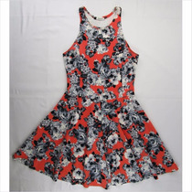Bellísimo Vestido Casual Anaranjado Para Dama Tnt Talla 1