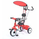 Triciclo Infantil Modelo Cheerway Bebesit Rojo Celeste Rosa