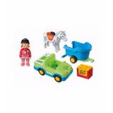 Playmobil 123 Remolque Caballo 6958 Punto Bebe