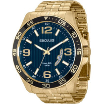 Relógio Seculus Masculino 28739gpsgda3