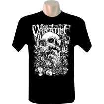 Camiseta Tradicional Bandas Rock Bullet For My Valentine