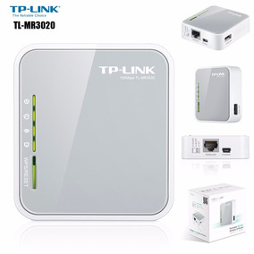 Router Tp-link Mr3020 3g/4g Digitel Bam Movistar 5años Gtia