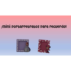 Recuerdos Mimi Y Princesa Sofía De Madera 12 Piezas