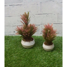 Kit 2 Un - Plantas / Árvores Miniatura Folhas Silicone 02