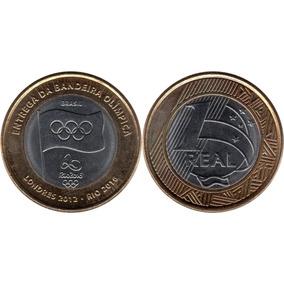 1 Real Comemorativa Entrega Bandeira Olimpíca 2012 + Brinde