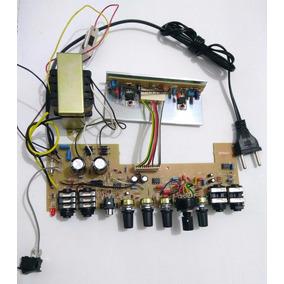 Placa Amplificador Para Contra Baixo Réplica Ampeg Ba112a