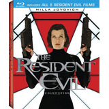 The Resident Evil Collection Blu-ray