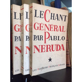 Pablo Neruda El Canto General Le Chant General Paris 1954