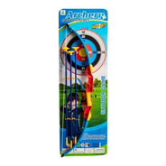 Arco Y Flecha Infantil Juguete Punteria Arqueria Aire Libre