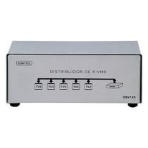 Splitter Distribuidor De S-video/s-vhs Com Audio 1 X 5