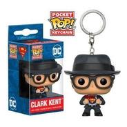 Pocket Pop Llavero Clark Kent Superman Dc Comics Funko