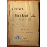 L1570. Revista De La Junta De Historia Y Letras De La Rioja
