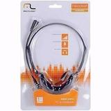 Fone De Ouvido Com Microfone Headset Multilaser Ph002
