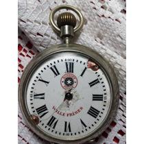Antiguo Reloj De Bolsillo Roscopf Funciona Perfecto