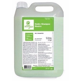 Shampoo Cães Gatos Pet Society 5 Litros Perfume Neutro Hydra
