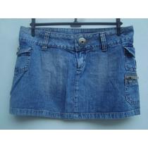 Mini Saia Jeans Da Hand Book Tam P