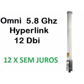 Antena Omni Hyperlink 12dbi 5.8 Hg5812u Antena Hyperlink