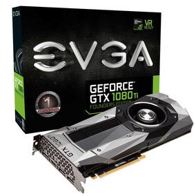 Evga Geforce Gtx 1080 Ti Fe Directx 12 352-bit Gddr5x Sli
