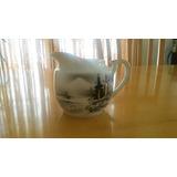 Cremera Vintage Mediana De Porcelana Japonesa Kutani China.