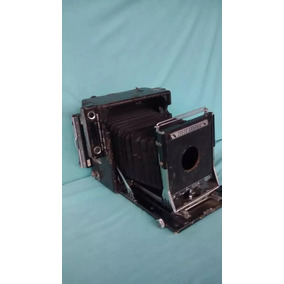 Camera Fotografica Antiga Espeed Graphic Fole Anos 30