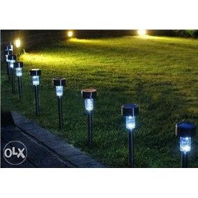 Luces Para Jardin Solares De Led 10 Piezas