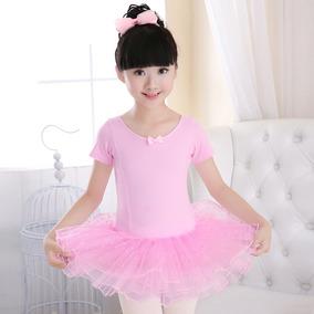 Ballet Vestido Para Niñas Color Rosa. Tutù Oferta