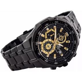 989db28c3a2 Ultra Relogio Cassio Edifice 539 Black Top Promocao Novo