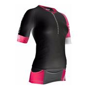 Remera Compresión Compressport Triathlon Tr3 Aero Top Mujer