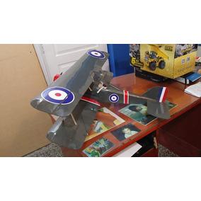 Avion Biplano Rc Completo