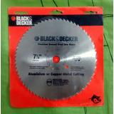 Disco De Sierra Circular 7-1/4 Cortes Aluminio O Cobre B&d