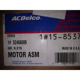 Motor Soplador De Aire Acondicionado Blazer S10 Ac Delco