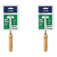 Kit Com 2 Abre Trinca Para Parede E Gesso 375 - Atlas