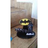 Topo Bolo E Display Batman Festas