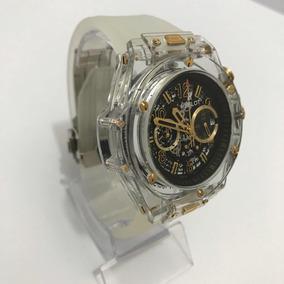 1e58f779bbf Relogio Acrilico Transparente Exato Avon Masculino - Relógios De ...