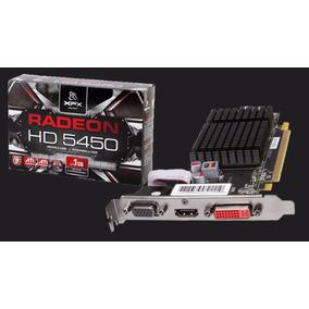 Placa Video Ati Radeon Xfx One Hd5450 1gb Ddr3