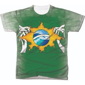 Camiseta Camisa Manga Curta Copa Do Mundo Seleção Futebol 05